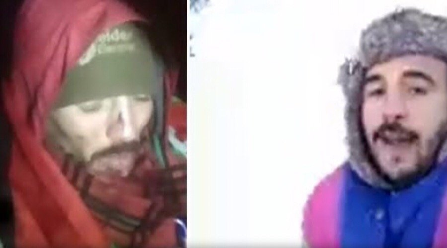إنقاذ حياة الشابين العالقين في الثلوج بمرتفعات ايساغن
