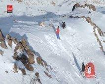 """أكسيجين : لنتعرف على رياضة """"Ski Snowboard"""" في منطقة اوكيمدن بالمغرب"""