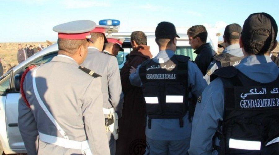 تبادل إطلاق النار بين الدرك وتجار مخدرات بضواحي القنيطرة