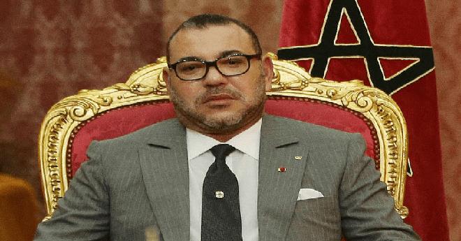 الملك محمد السادس يهنئ أعضاء المنتخـب الوطني المغربي للاعبين المحليين بفوزه ببطولة أمم إفريقيا 2018