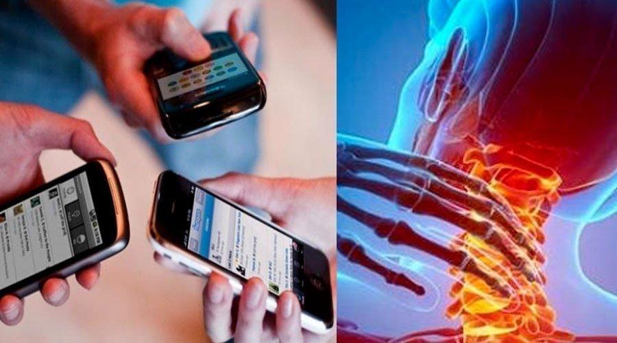 الهواتف النقالة تغير الهيكل العظمي للإنسان