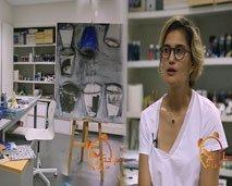 الفنانة التشكيلية نرجس الجباري تتحدث عن أعمالها