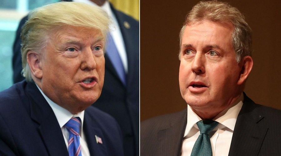 """ترامب يرد على تسريبات السفير البريطاني ويصفه بـ""""الشخص الغبي"""""""
