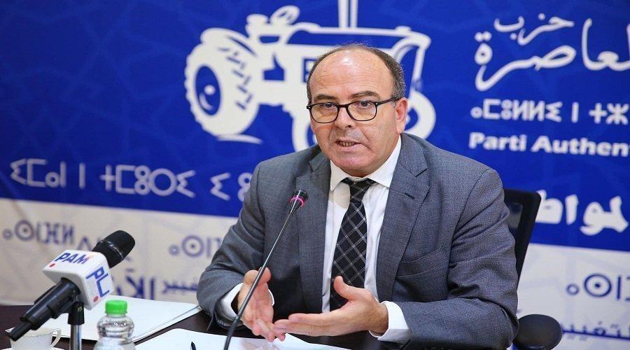 """بنشماش يطرد وهبي والحكوني وقياديين بارزين من """"البام"""""""