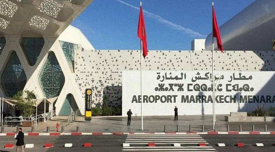 انقلاب طائرة خاصة بمطار مراكش