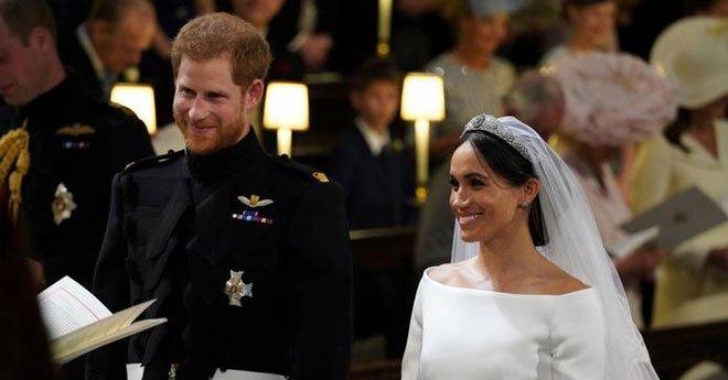 زواج الأمير هاري والممثلة الأمريكية ميجان ماركل