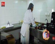 """حلقة شيقة ....برنامج دير راسك بلاصتي يقتحم عالم """" عاملة النظافة في المقاهي """""""
