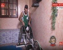 في بيتنا بطل: عبد الفتاح بامو.. بطل يسابق الريح بدون ساقين
