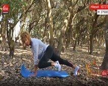 """جربوا هذه التمارين الرياضية مع """"كلثوم اضمير"""" للحصول على جسم مرن"""