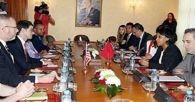 مباحثات مغربية -أمريكية لبحث التعاون العسكري والأمني بين البلدين