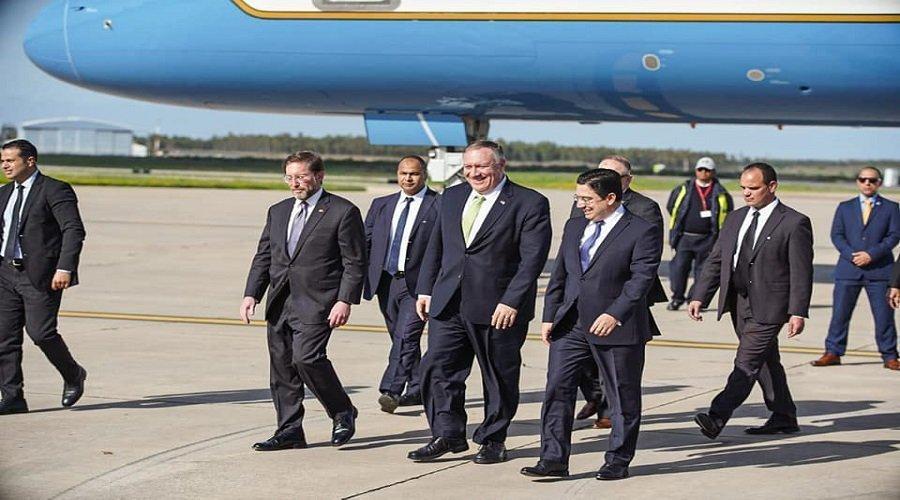 وزير الخارجية الأمريكي يحل بالمغرب