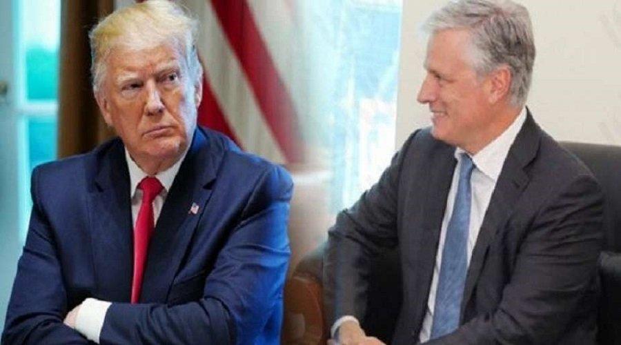 ترامب يعين الدبلوماسي روبرت أوبراين مستشارا للأمن القومي