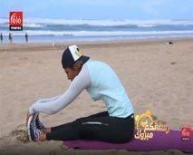 حركات بسيطة لشد الجسم مع كلثوم أضمير
