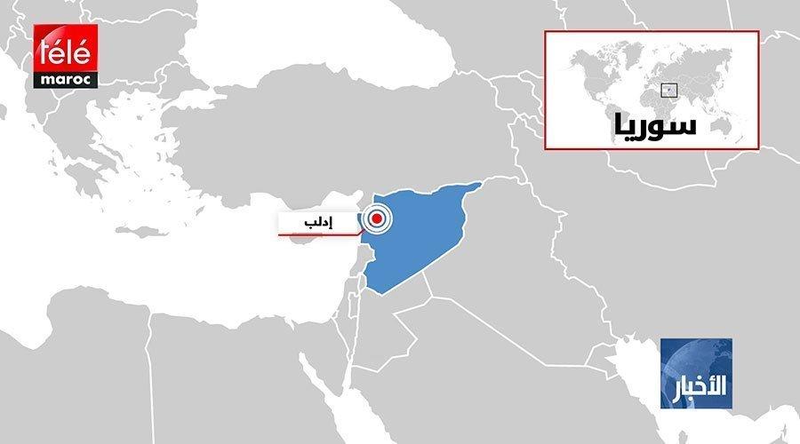 سوريا..مقتل ثمانية مدنيين في غارات جوية استهدفت إدلب