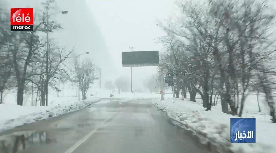 إعادة فتح جميع المقاطع الطرقية التي عرفت انقطاعا بفعل الثلوج