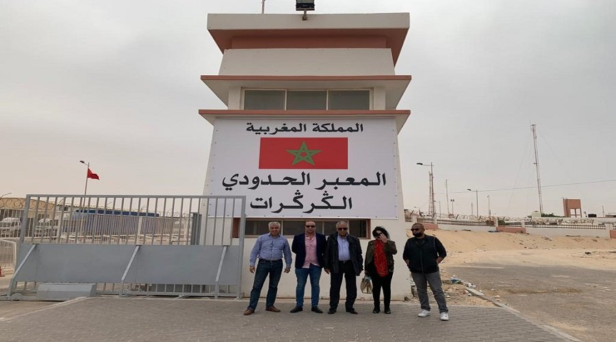 الجمعية الوطنية للإعلام والناشرين تزور الكركرات وتقف على مجهودات القوات المسلحة الملكية
