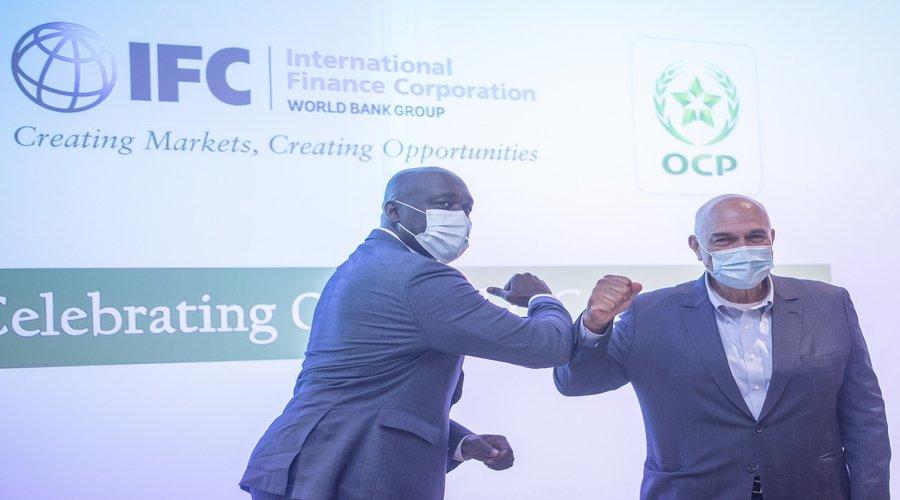 توقيع اتفاقية ب100 مليون دولار بين OCP ومؤسسة التمويل الدولية