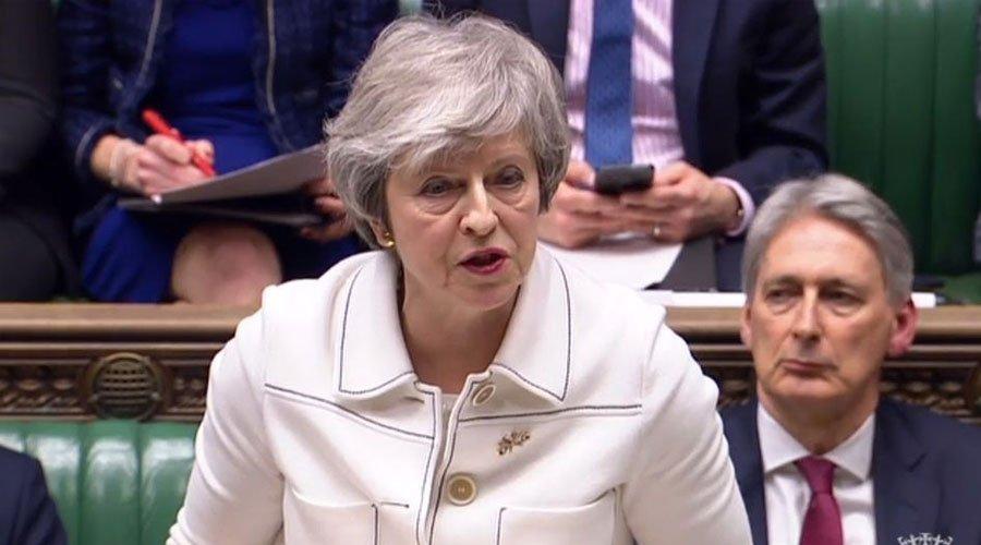 """ماي تدعو البرلمان البريطاني إلى إلقاء """"نظرة ثانية"""" على اتفاق الخروج"""