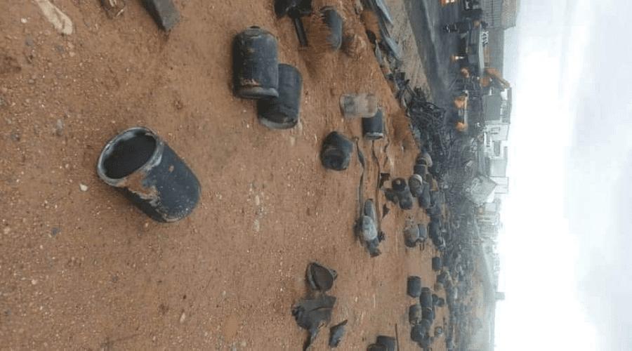 انفجار قنينات غاز في حادث سير خطير بين مراكش وأكادير