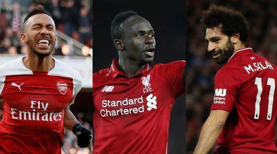 محمد صلاح و ساديو ماني و أوباميانغ يتنافسون على جائزة أفضل لاعب إفريقي سنة 2018