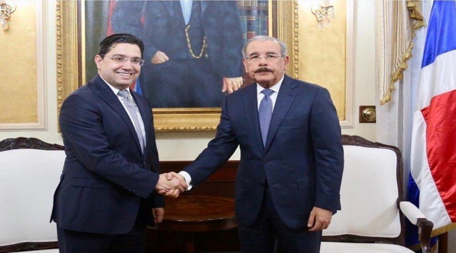 بوريطة ينقل رسالة من الملك محمد السادس إلى رئيس جمهورية الدومينيكان