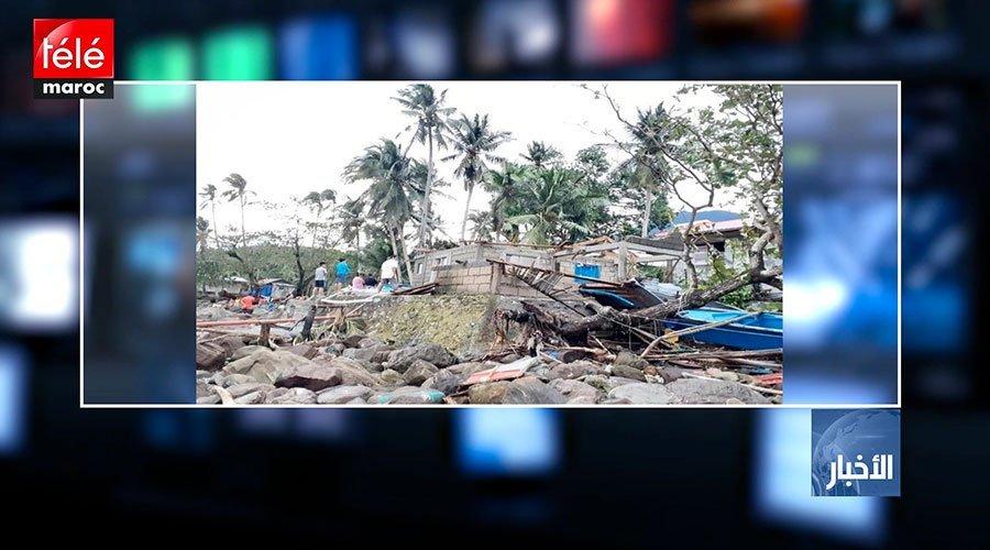 الفلبين..قتلى وأضرار مادية جسيمة بسبب الإعصار فانفون