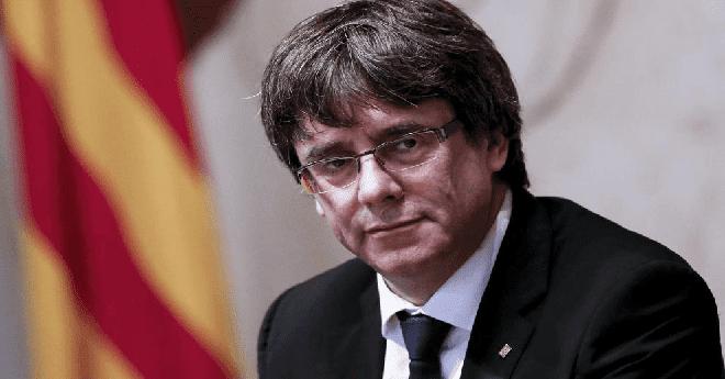 زعيم كطالونيا المخلوع يقول أن بإمكانه حكم الإقليم من الخارج وإسبانيا ترفض