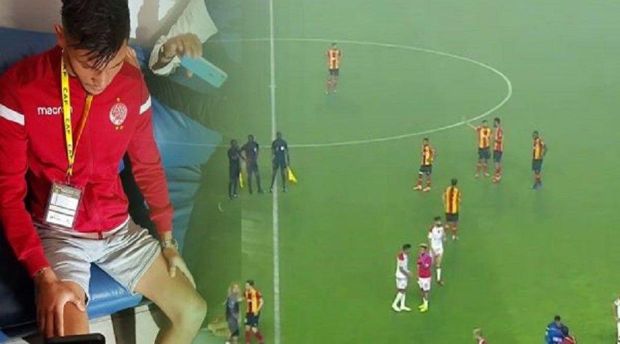 بالفيديو.. الاعتداء على بعثة الوداد بتونس وإصابة اللاعب داري