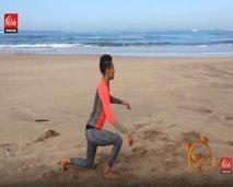إليكم تمارين رياضية يمكن القيام بها على الشاطئ