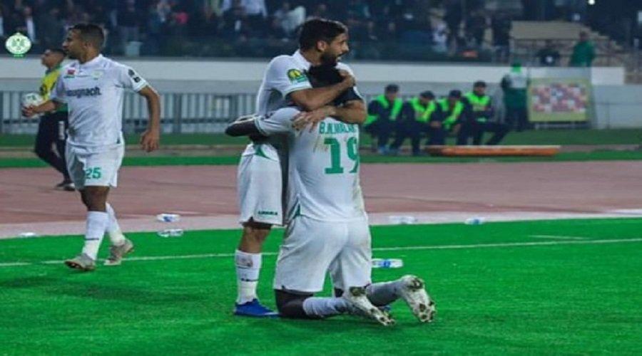 الرجاء يحقق فوزا مهما على حساب شبيبة القبائل الجزائري