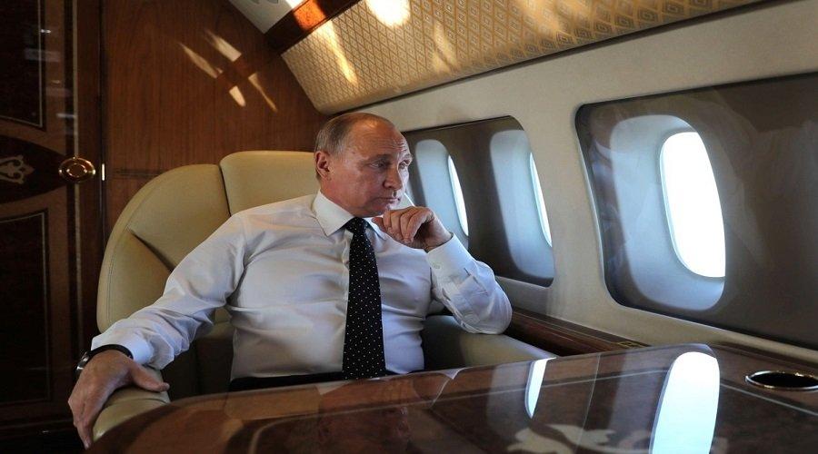 لصوص يسرقون طائرة بوتن النووية