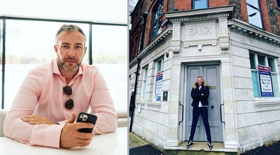 رفض بنك منحه قرضا فاشترى البنك والعمارة التي يوجد فيها