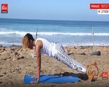 حركات سهلة للحصول على جسم مشدود مع كلثوم أضمير