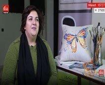 سهام العمراني من مسؤولة إشهار و تواصل إلى فنانة تشكيلية