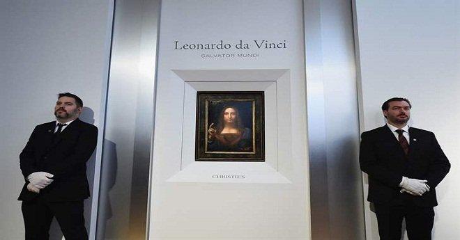 """""""اللوفر أبو ظبي """"سيعرض لوحة لليوناردو دا فينشي هي الأغلى في العالم"""