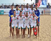المنتخب المغربي لكرة القدم الشاطئية يتقدم في التصنيف العالمي