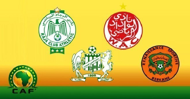 هذا برنامج وتوقيت مباريات الأندية المغربية في المنافسات القارية