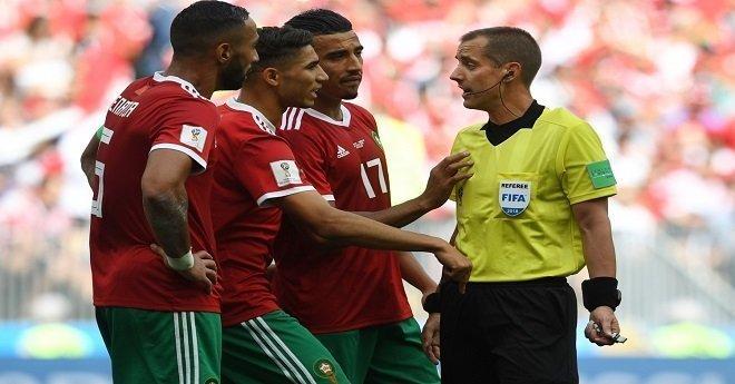 """رسميا.. المغرب يحتج على الفيفا بسبب ظلم التحكيم وعدم استخدام """"الفار"""""""