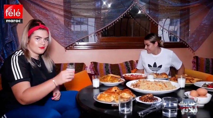 شوفوا روسية كيفاش كتوجد الفطور على الطريقة المغربية