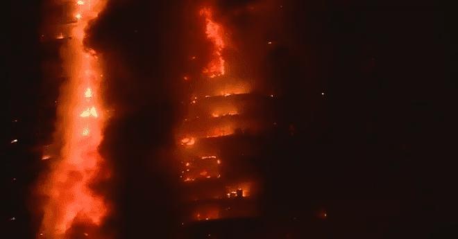 وزارة الهجرة تدخل على خط مقتل مغربية وطفليها في حريق بالإمارات