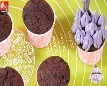 كيك ديزاين: Cup Cake بأشكال متنوعة وشهية