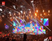 النجوم المغاربة يشعلون حفل نيكلودين أبو ظبي 2019