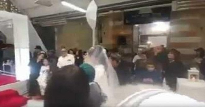 بالفيديو.. مستوطنون صهاينة يقيمون عرسا داخل الحرم الإبراهيمي