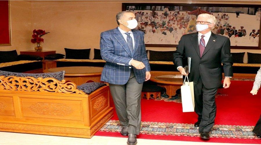 حموشي يستقبل بالرباط سفير الولايات المتحدة الأمريكية بالمغرب