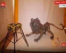 صباحكم مبروك: نشاهد كيف تتحول المواد الأولية  بين يدي أولريش زواند إلى تحف فنية