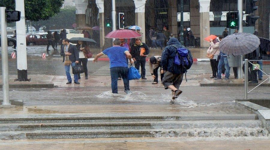 أمطار وزخات رعدية غدا الخميس بهذه المناطق