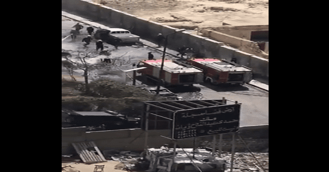 عاجل.. قتلى وجرحى في انفجار سيارة مفخخة بمصر – فيديو