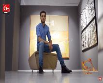 الفنان التشكيلي الشاب يونس ميلودي ضيف صباحكم مبروك