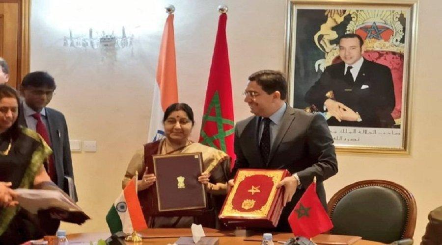 التوقيع على 4 اتفاقيات تعاون بين المغرب والهند