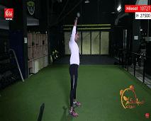 حركات رياضية لشد عضلات الجسم مع كلثوم اضمير
